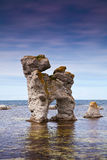 Limestone pillars Royalty Free Stock Image
