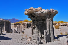 Limestone pillars Tufa Stock Photo