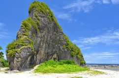 Limestone in Northern Samar, Philippines Royalty Free Stock Images