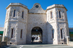 Limestone Prison: Fremantle, Western Australia Royalty Free Stock Photography
