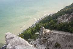 Limestone protrusions Royalty Free Stock Images