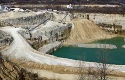 Limestone Quarry Stock Images