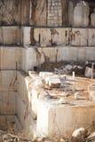 Marble Quarry stock image