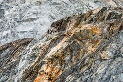 Limestone in Quarry Royalty Free Stock Photography