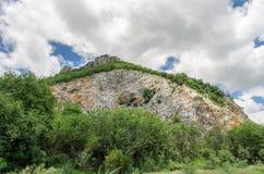 Limestone Quarry Stock Image