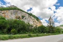 Limestone Quarry Royalty Free Stock Images