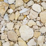 Limestone river rock. An up close view of limestone river rock stock photography
