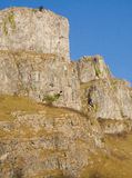 Limestone rock Cheddar Gorge Somerset Stock Images