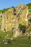 Limestone rock formation Royalty Free Stock Photography