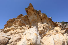Limestone rock Stock Photography