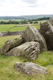 Limestone Rocks. Shaped by the weather. Yorkshire Dales, England royalty free stock image