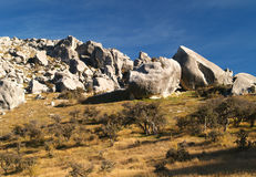 Limestone rocks at Castle Hill Stock Photos