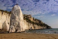 Limestone rocks, Gargano, Italy Royalty Free Stock Photo