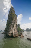 Limestone rocks in Halong Bay, Vietnam. Stock Photography
