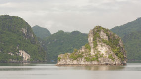 Limestone rocks in Halong Bay, Vietnam Stock Photos