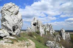 Limestone rocks. Stock Photo
