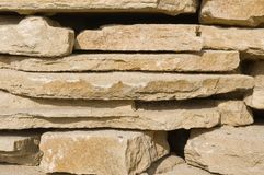 Limestone rocks texture Stock Images