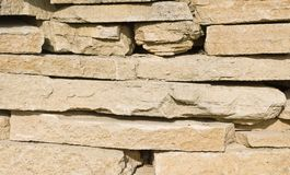 Limestone rocks texture. Large limestone rocks background / texture Stock Images