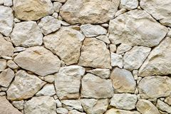 Limestone Rockwall Stock Photography