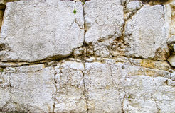 Limestone rusted and fractured background Stock Photography