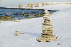 Limestone stacks.JH Stock Images