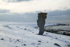 Limestone stacks.JH Royalty Free Stock Image