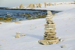 Limestone stacks.JH Stock Images