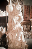 Limestone statue Bali Royalty Free Stock Photo