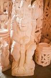 Limestone statue Bali Royalty Free Stock Photography