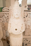 Limestone statue Bali Royalty Free Stock Images