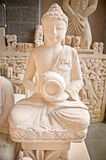 Limestone statue Bali Stock Photography