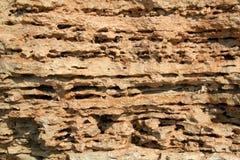 The limestone texture. Cremia, Ukraine Royalty Free Stock Images