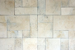Limestone tile. Royalty Free Stock Photography