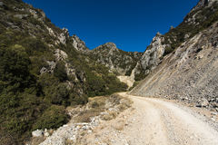 Sardinia.Limestone valley stock photos
