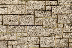 Limestone wall background. Royalty Free Stock Photos