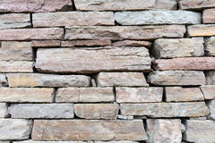 Limestone wall background Royalty Free Stock Photos