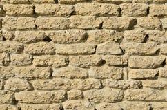 Limestone wall Royalty Free Stock Image