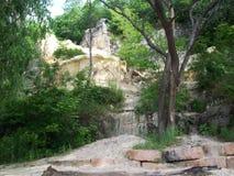 Limestone Wall Stock Image