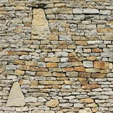 Limestone wall Royalty Free Stock Images