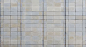 Limestone walling panels Stock Photography