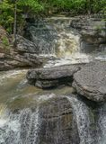 Limestone Waterfall royalty free stock images