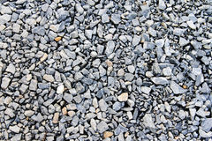 Limestoneheavy schiacciato Immagini Stock