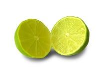 Limette découpée en tranches Images stock