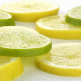 limette et citron Photographie stock libre de droits