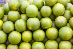 Limette fresco verde grampeado foto de stock royalty free