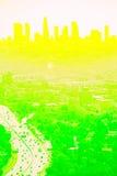 Limette Los Angeles de citron Images libres de droits