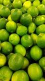 Limettes vertes Images libres de droits
