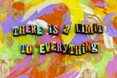 Limit everything plan get real want need preparation. Typography goal anything possible enjoy life horizon hard work sky time vector illustration