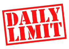 DAILY LIMIT Stock Photos