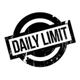 Daily Limit rubber stamp Royalty Free Stock Photography